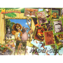 Mc Mad Car Madagascar Album Completo Stickers Para Pegar