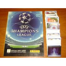 Álbum Champions League 2007/2008 Panini A Pegar !!