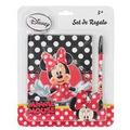 Disney Set De Regalo Minnie Mouse ( Agenda + Lapicero)