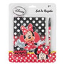 Disney Set De Regalo Minnie Mouse ( Agenda + Lapicero)