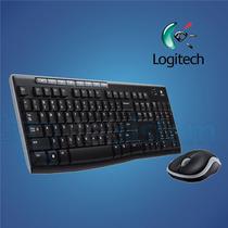 Kit Teclado + Mouse Wireless Logitech Mk270 Black Itelsistem