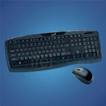 Teclado Genius + Mouse Slimstar Kb-8000x Wireless Itelsistem