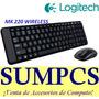 Kit Teclado Logitech + Mouse Mk220 Wireless (pn 920-004430)