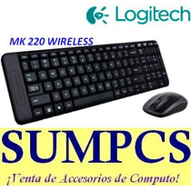 Kit Teclado Logitech + Mouse Mk220 Wireless (pn 920-004430)
