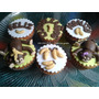 Caja De Cupcakes Para Regalo Con Decorado Personalizado