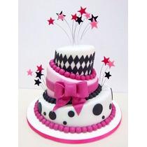 Tortas, Maquetas, Cupcakes Para 15 Años, Porciones De Torta