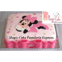 Torta Minnie Mouse + 15cupcakes - Promoción A Sólo S/. 160!!