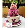 Torta Minnie Mouse Para 50 Porciones A Solo S/. 230! Diseños