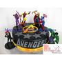 Torta + 15 Cupcakes Avengers - Combo Promoción A Solo S/.170