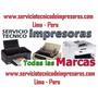 Servicio Técnico De Impresoras A Domicilio 959312401