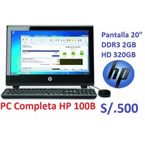 Hp Pc Completa 100b All-in-one