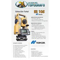 Estacion Total Topcon Es 105 Nueva Y Con Factura