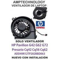 Ventilador Laptop Fan Hp G42 G62 G72 Compaq Cq42 Cq56 Cq62