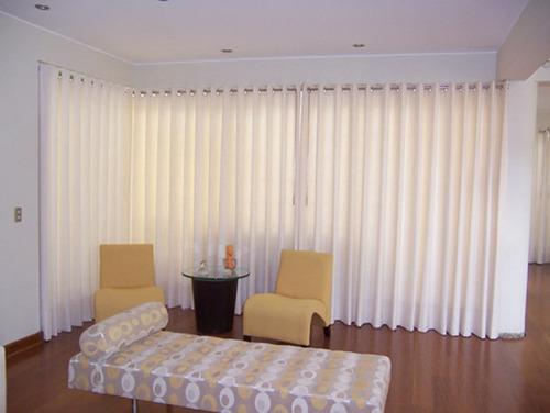 Cortinas modernas para sala 2014 imagui for Cortinas blancas para sala