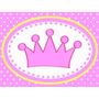 Kit Imprimible Baby Shower Coronita Candy Bar Tarjetas