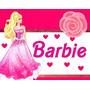 Kit Imprimible 2 Barbie Personalizadas, Cumples Fiesta Y Mas