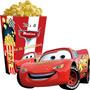 Kit Imprimible De Cars Tarjetas Cumpleaños + Candy Bar