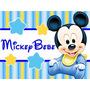 Kit Imprimible 1 Mickey Bebe Disney Candy Bar Tarjetas Y Mas