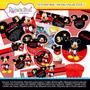 Kit Imprimible 3 Mickey Mouse Cumpleaños Invitaciones