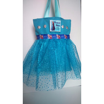 Tutu Carterita,mochilita,personalizada Frozen Elsa Ana