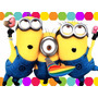 Kit Imprimible Minions Mi Villano Favorito Candy Bar Y Mas1