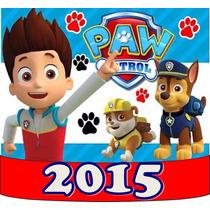 Kit Imprimible Paw Patrol Patrulla De Cachorros Tarjeta Mas