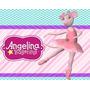 Kit Imprimible 2 Angelina Ballerina Diseñá Tarjetas Cumples