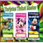 Invitaciones Infantiles Personalizadas Tarjeta Cotillon