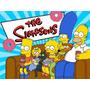 Kit Imprimible Los Simpson Diseña Tarjetas Cumpleanos Invita