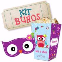 Kit Imprimible Tarjetas Con Buhos Y Pajaritos Varias Ocasion