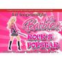 Kit Imprimible 4 Barbie Popstar Rock