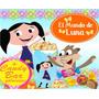 Kit Imprimible El Mundo De Luna Cumpleaños Tarjeta Candy Bar