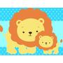Kit Imprimible 1 Animalitos Baby Shower Diseña Tarjetas Mas