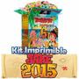 2x1 Kit Imprimible Jake Y Los Piratas De Nunca Jamas Nuevo