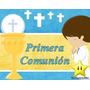 Kit Imprimible 2 Primera Comunion Nene Diseñá Tarjetas Y Mas