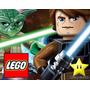 Kit Imprimible 2 Lego Star Wars Diseñá Tarjetas Cumples Y Ma