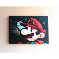 Mario Bros Cuadro