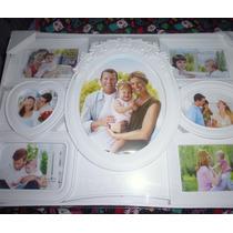Cuadro Decorativo Para Fotos -blanco -nuevo Diversos Diseños