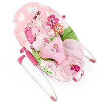 Oferta Bouncer Mecedor Musical Bright Starts Pretty In Pink