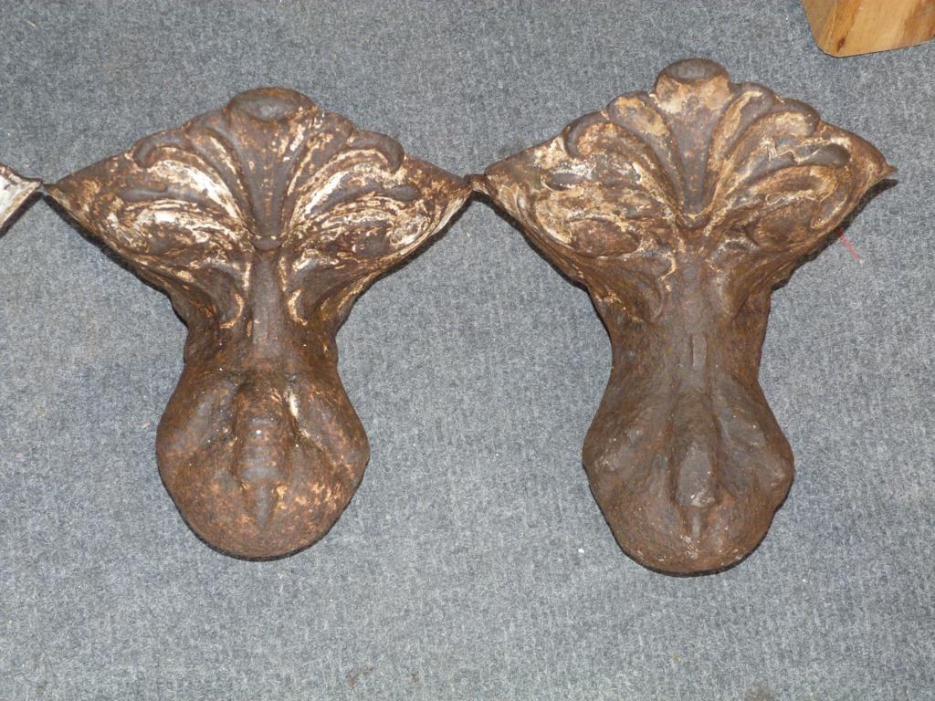 Cuatro patas antiguas de ba era en hierro finales de 1800 for Baneras antiguas precios