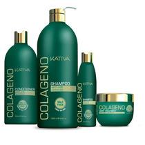 Shampoo Acondicionador Natural Quinua Colageno Argan Keratin