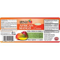 Mango Africano Capsulas Perder Peso Quemar Grasa
