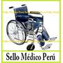 Silla De Ruedas Traumatológica Pacientes Con Clavos, Yeso