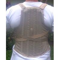 Faja Dorsal Ortopedica-corset Lumbar Semirijido- Faja Rehabi