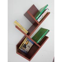 Repisa Decorativa Árbol - Librero Estante. 4 Divisiones