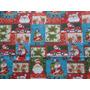 Navidad Mantel Grande Papa Noel Importado Elle851