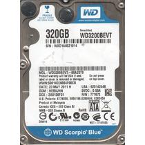 Tarjeta Lógica - Western Digital 320gb Wd3200bevt-22zct0