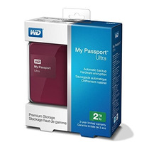 Disco Duro Externo 2tb Western Digital My Passport Ultra 3.0