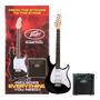 Peavey Guitarra Electrica Pack Amplificador Accesorios Todos