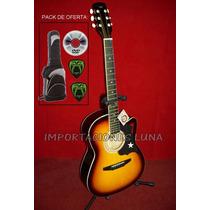 Guitarras Con Cuerdas Metalicas De Lujo, Instrumentos